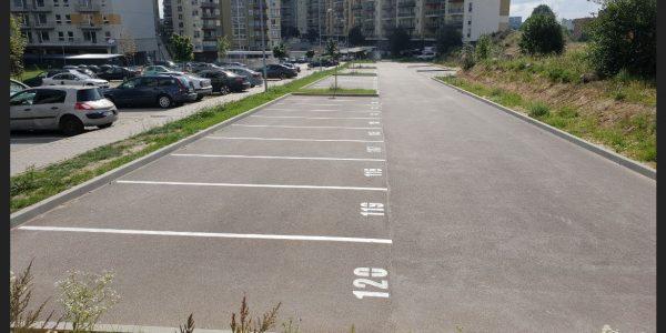 Parkavimo aikstele, vilnius, perkunkiemis
